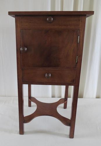 19th Century Georgian Mahogany Pot / Bedside Cupboard (1 of 13)