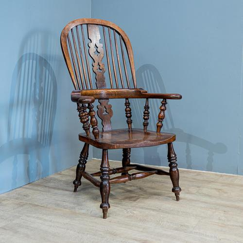 Broad Arm Windsor Chair (1 of 5)