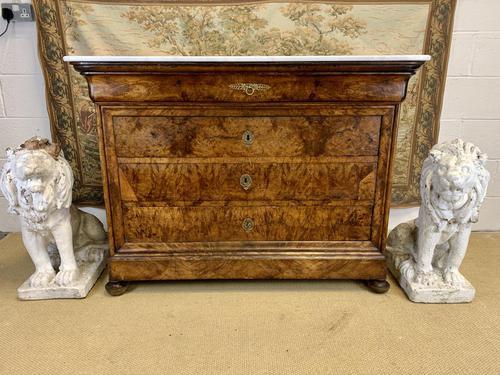 18th Century Burr Walnut Commode (1 of 9)