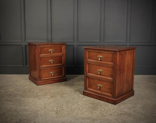 Pair of Walnut Chests (1 of 16)