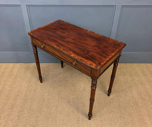 Georgian Flame Mahogany Side Table (1 of 16)