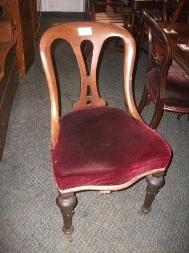 Victorian Spoon Back Dining Chair (1 of 1)