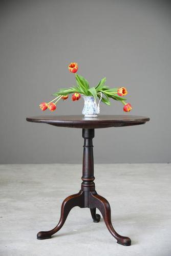 Antique Mahogany Tripod Table (1 of 12)