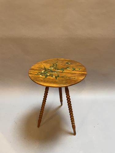 Painted Italian Lamp Table (1 of 6)