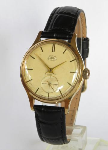 Gents early 1960s Smiths Astral wrist watch (1 of 4)