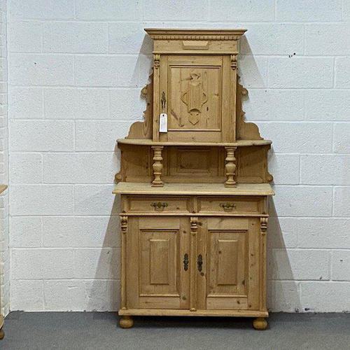 Antique Pine Ladies Dresser (1 of 7)