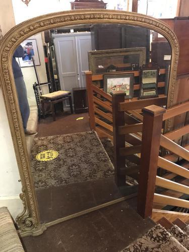 Victorian Gilt Mirror (1 of 5)