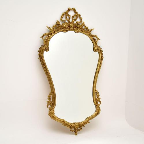 French Style Solid Brass Mirror (1 of 12)