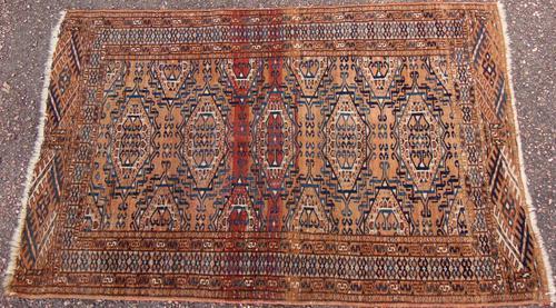 Antique Yumut Turkoman Rug (1 of 7)