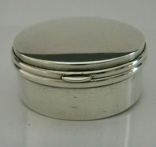 Art Deco Antique Sterling Silver Box 1921 (1 of 8)