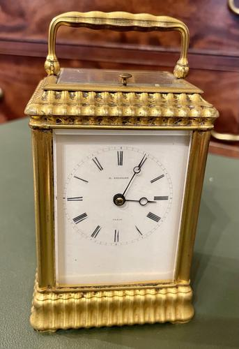 Pretty French Carriage Clock (1 of 5)