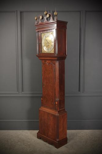 18th Century Mahogany Longcase Grandfather Clock (1 of 1)