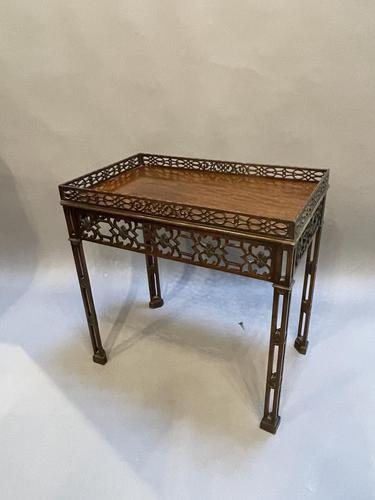 Chippendale Revival Side Table (1 of 9)