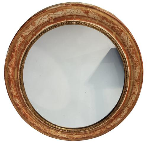 Oval Gilt Mirror (1 of 1)