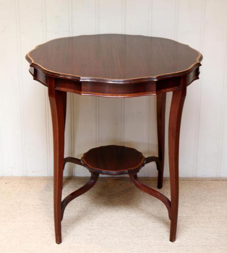 Inlaid Mahogany Circular Table (1 of 12)