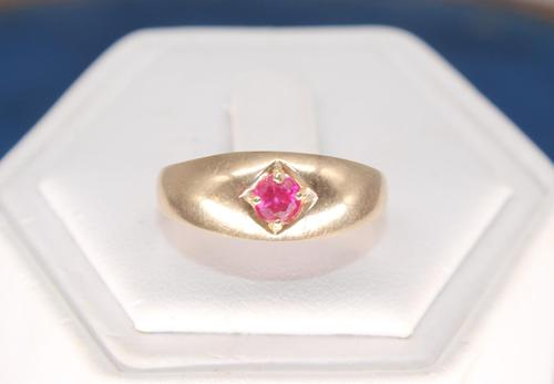 14ct Gold & Ruby Ring (1 of 4)