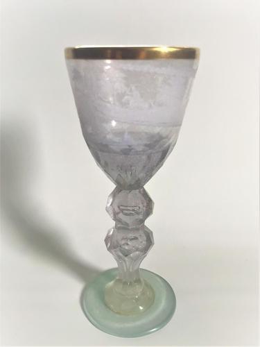 Imposing 19th Century Bohemian Goblet (1 of 7)