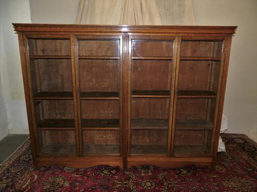 Large Oak Bookcase (1 of 5)
