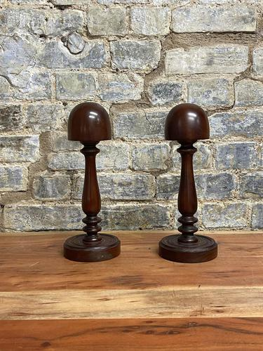 Mahogany Hat Stands (1 of 5)