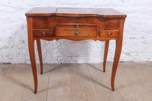 French Walnut Veneer Fold out Dressing Table (1 of 7)