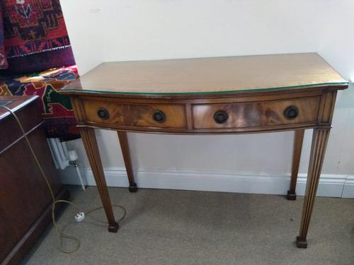 Two Drawer Hall Table (1 of 7)
