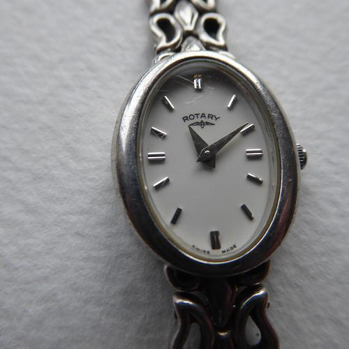 Ladies Rotary Silver Watch (1 of 9)