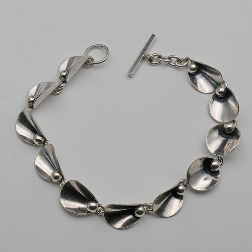 Danish silver bracelet by Niels Erik FROM (1 of 2)