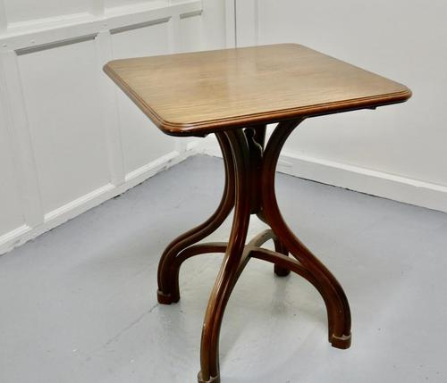 Square Bentwood Bistro Table (1 of 4)