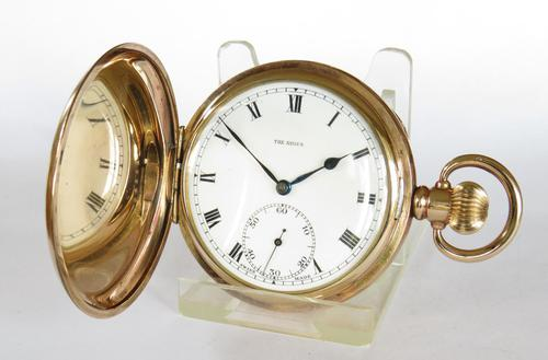 """Antique """"The Angus"""" Full Hunter Pocket Watch (1 of 6)"""