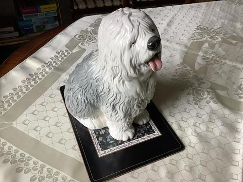 Beswick Fine Example of an Old English Sheepdog (1 of 3)