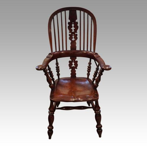 Victorian Yorkshire Broad Armchair (1 of 9)