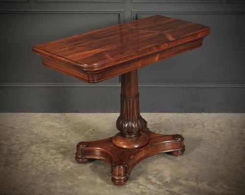 William IV Rosewood Card Games Table (1 of 17)