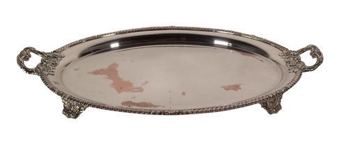 Sheffield Plate Platter (1 of 4)