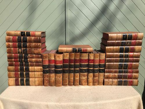 30 Antique Leather Bound Law Books 1890-1940 (1 of 6)
