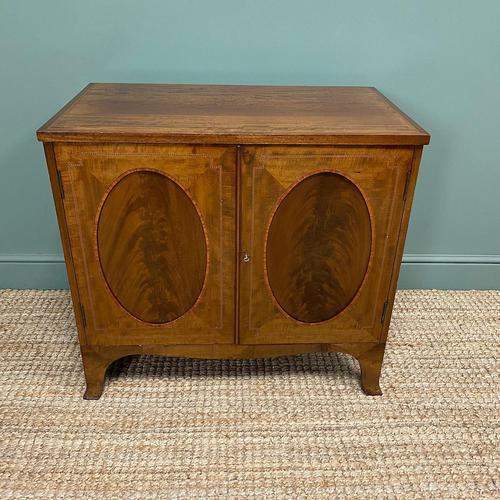 Quality Edwardian Mahogany Antique Cabinet (1 of 6)