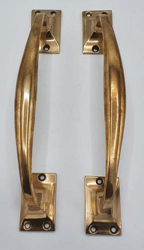 Good Quality Pair of 19th Century Bronze Door Pulls or Handles (1 of 2)