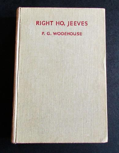 1934 1st Edition - Right Ho, Jeeves by P G Wodehouse (1 of 3)