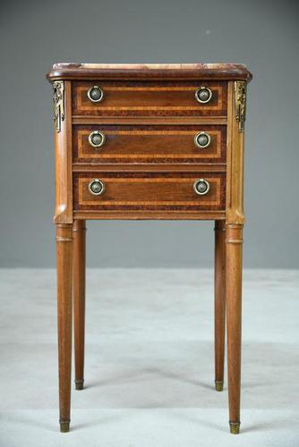French Bedside Cabinet (1 of 8)