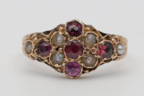 Late 19th Century Gold Dress Ring (1 of 3)