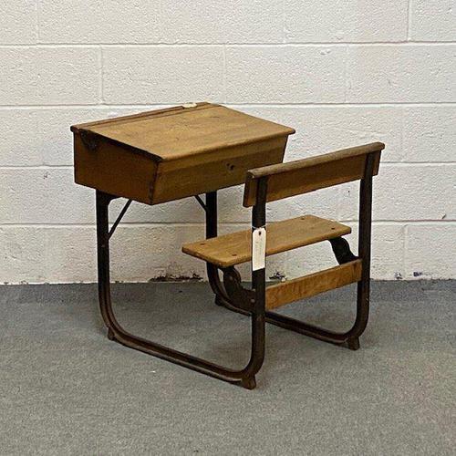 Old English School Desk (1 of 4)