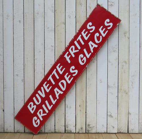 Vintage French Cafe Sign (1 of 6)