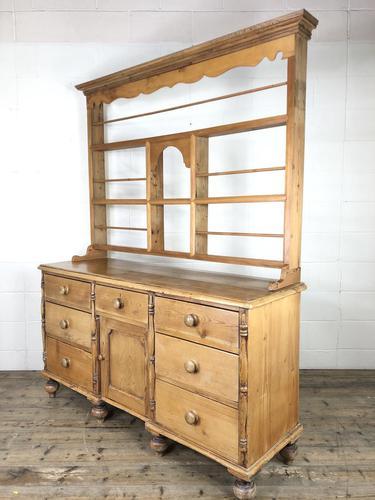 Victorian Antique Pine Dresser (1 of 18)