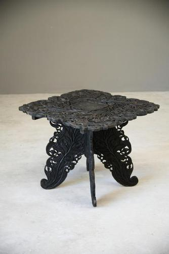 Anglo Indian Carved Table (1 of 11)