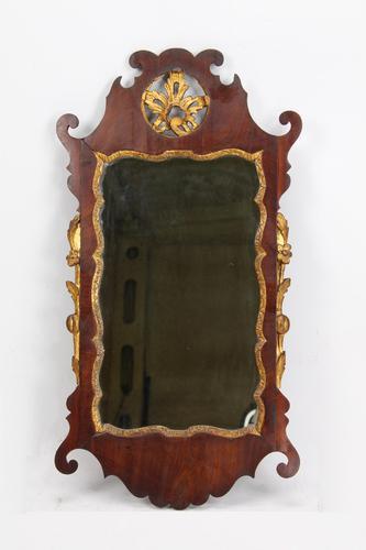 Georgian Mahogany Chippendale Fretwork Mirror (1 of 13)