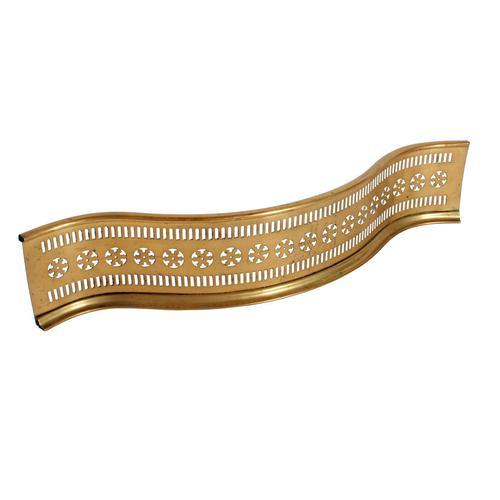 Small Georgian Brass Fender (1 of 7)