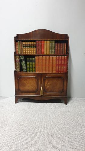 Pretty Mahogany Open Bookcase (1 of 6)