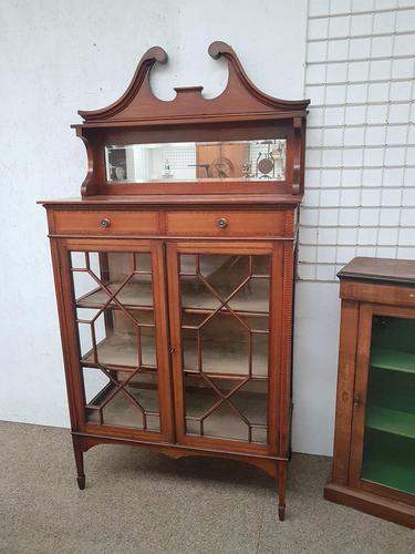 Edwardian Display Cabinet (1 of 6)