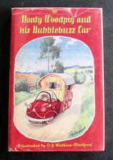 1958 1st Edition Monty Woodpig and His Bubblebuzz Car by 'bb'.  Illustrated by D J Watkins-Pitchford, Original Dust Jacket (1 of 5)