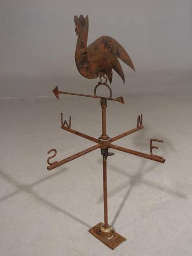 Early 20th Century Iron Weather Vane (1 of 3)