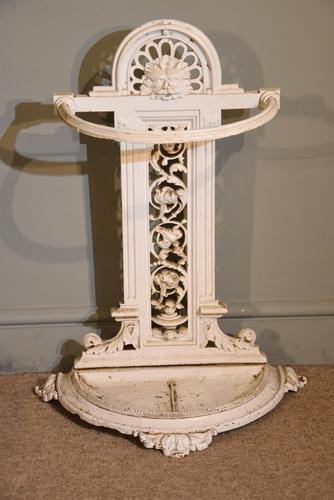 Cast Iron Stick Stand Stamped Railway Society (1 of 4)